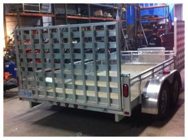 aluminum trailer fabrication